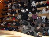 Počet návštěvníků převyšoval počet míst k sezení